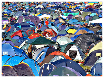 5 ways your digital marketing mix is like camping...no really!