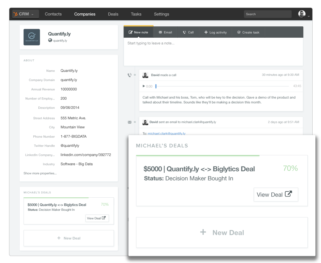Sales and marketing just got better: HubSpot launch new CRM
