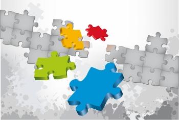 jigsaw pieces