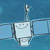 Rosetta as cartoon character