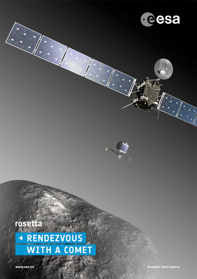 Rosetta Mission Poster