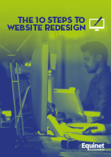 The 10 steps to website redesign