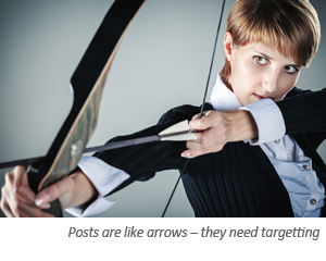 Blog writers tip: keep your blog on target with a brief