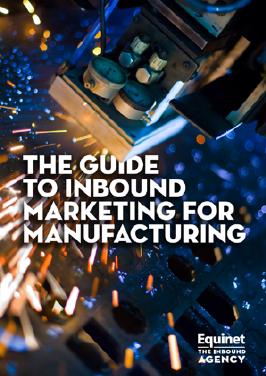 Inbound marketing for manufacturing eBook