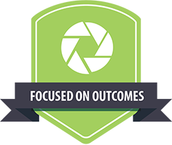 Equinet values focused on outcomes icon