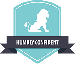 Equinet values humbly confident icon