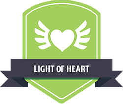 Equinet values light of heart icon