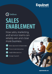 Sales enablement ebook cover