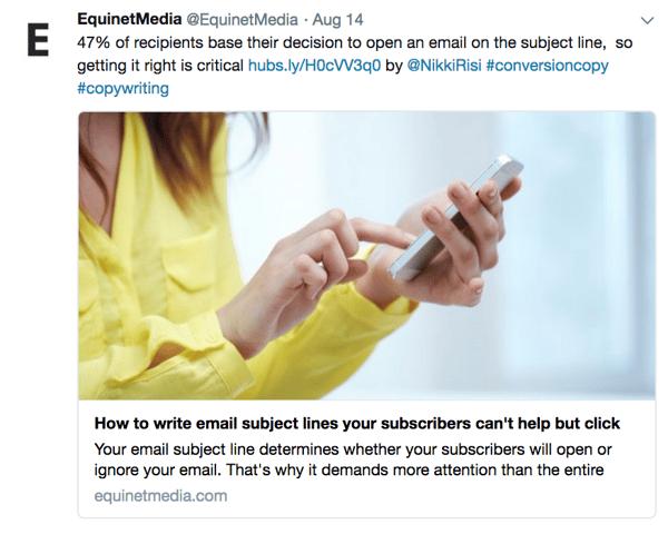 Equinet Media Twitter