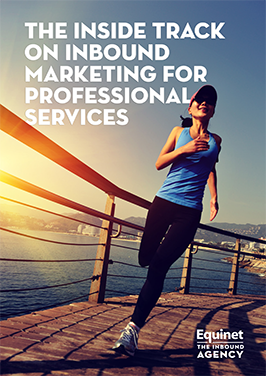 Inbound marketing for professional services eBook