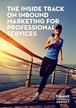 Inbound marketing for professional services eBook