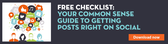 Your common sense guide to getting posts right on social