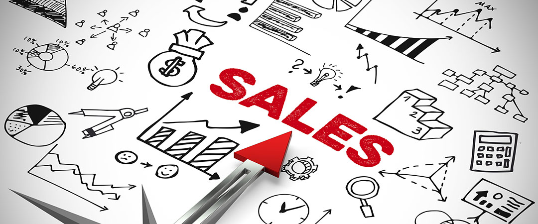 Picture of the word sales